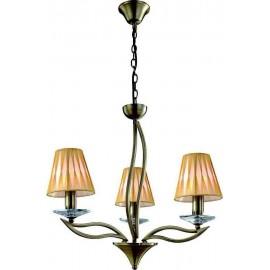 Lámpara de Sobremuro Exterior Amapola 1Luz Negro/oro 50x22