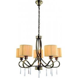 2715/5/CU LAMP.CUERO.5E27 MARTE (B015/B020/B114/B216)
