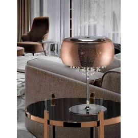 Lámpara de Sobremesa Globitos Rosa 1Luz (20x13d)