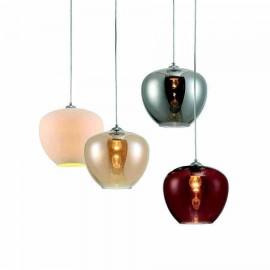 Lámpara de Sobremesa Poema Cuero/oro 1 Luz