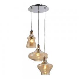 Lámpara tipo Plafon Estepa Plata 1Luz  20x20x11
