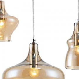 Venta de Lámpara tipo Plafón Estepa Plata 2 Luces 25x25x11