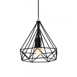 Lámpara Serie Indiana Beis/cuero 6 Luces 48x70d