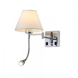 Lámpara Serie Misuri Beis/cuero 4 Luces  56x73d