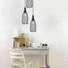 Lámpara de Aplique Nube Rosa 1Luz (28x17)