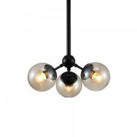 2855/3 LAMP. 3L NEGRO - SERIE RAQUEL