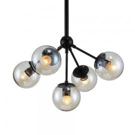 2855/5 LAMP. 5L NEGRO - SERIE RAQUEL