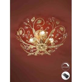 Lámpara de Sobremesa Kandor 1Luz Cuero 34x23