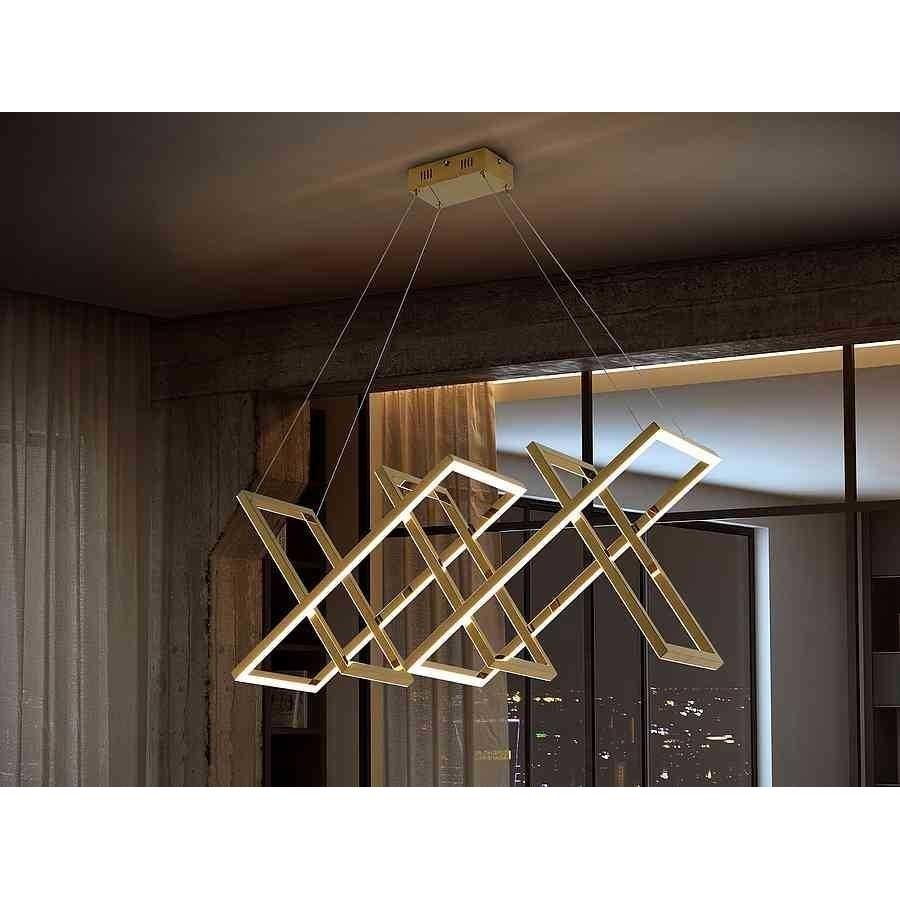LAMPARA ·LIMUS· ORO LED de Schuller