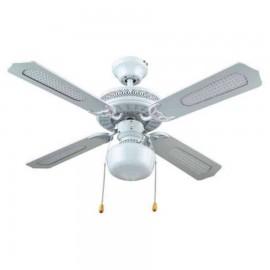 Ventilador blanco con luz modelo NERJA