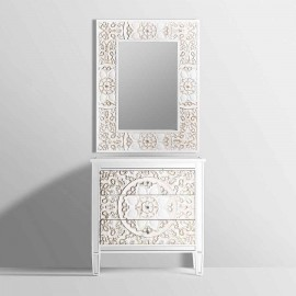 Lampara Empotrable Alfabeto 1xgu10 Perla Plata/blanco 8d Orientable