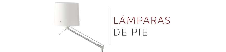 Comprar lámparas de pie modernas