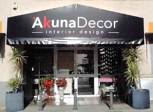 Fachada de AkunaDecor